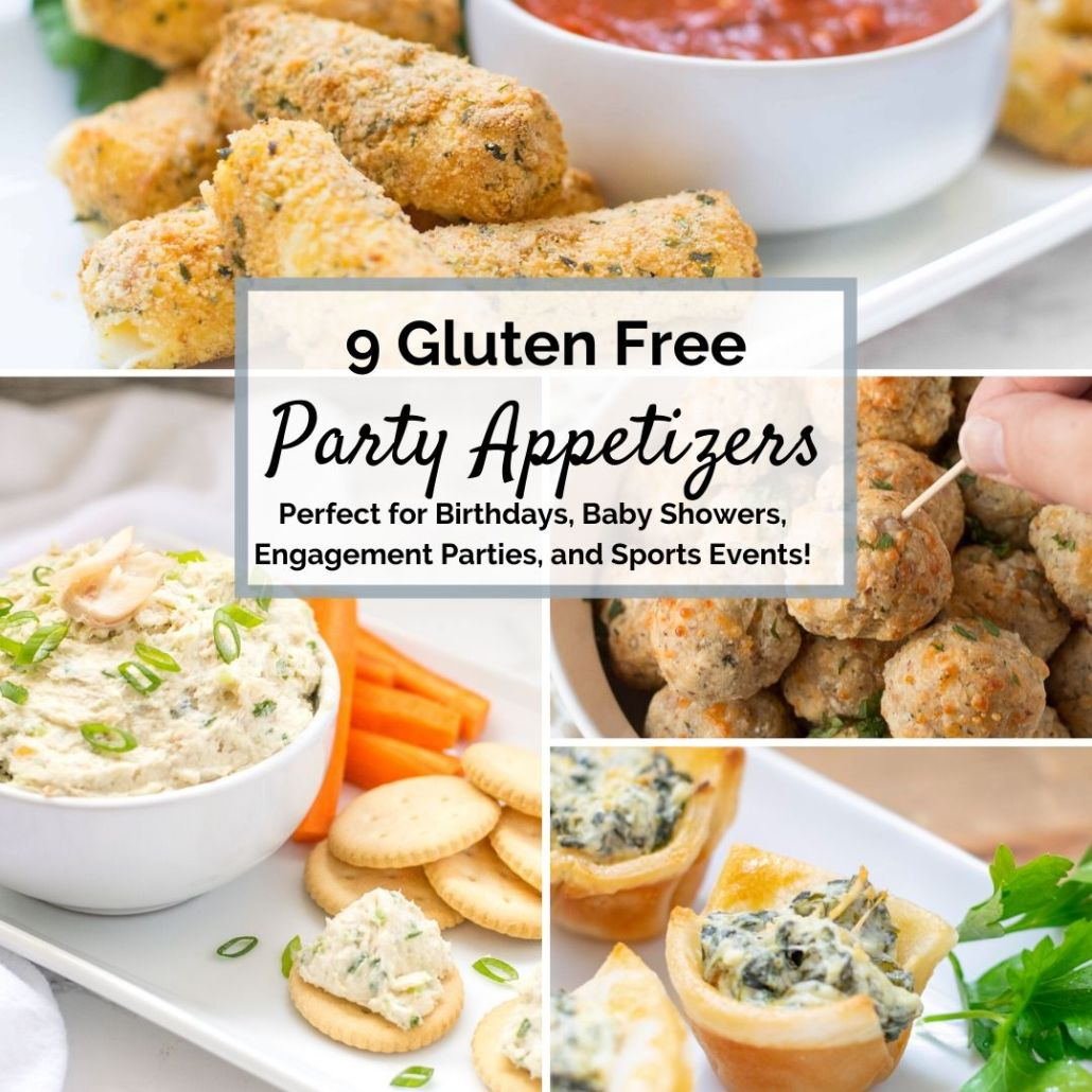 Gluten Free Appetizer Collage