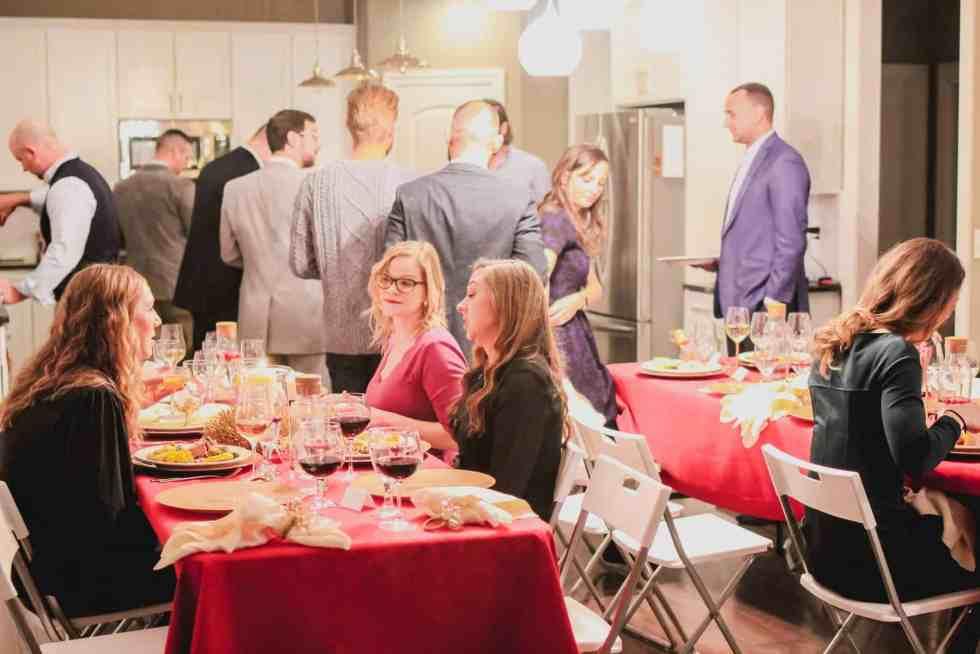 Keto Christmas Dinner Party