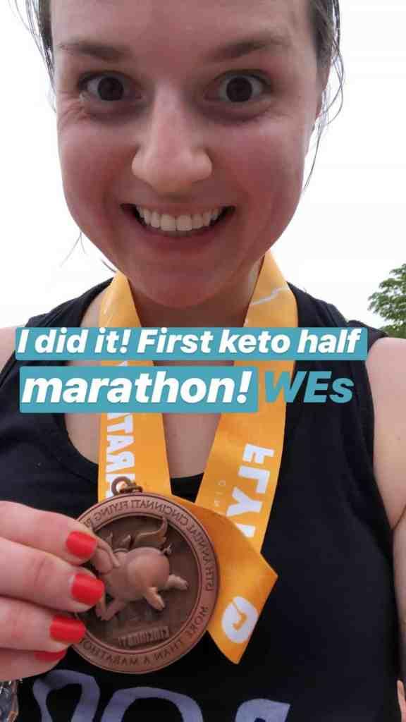 Running on Keto