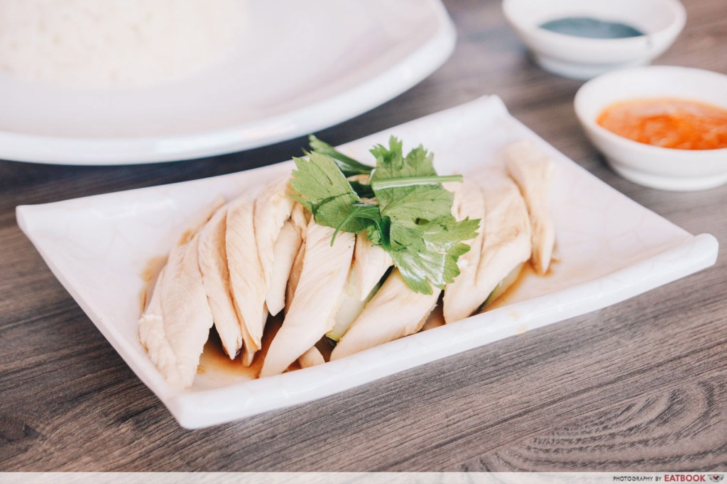 Katong Food Five Star Kampung Chicken Rice