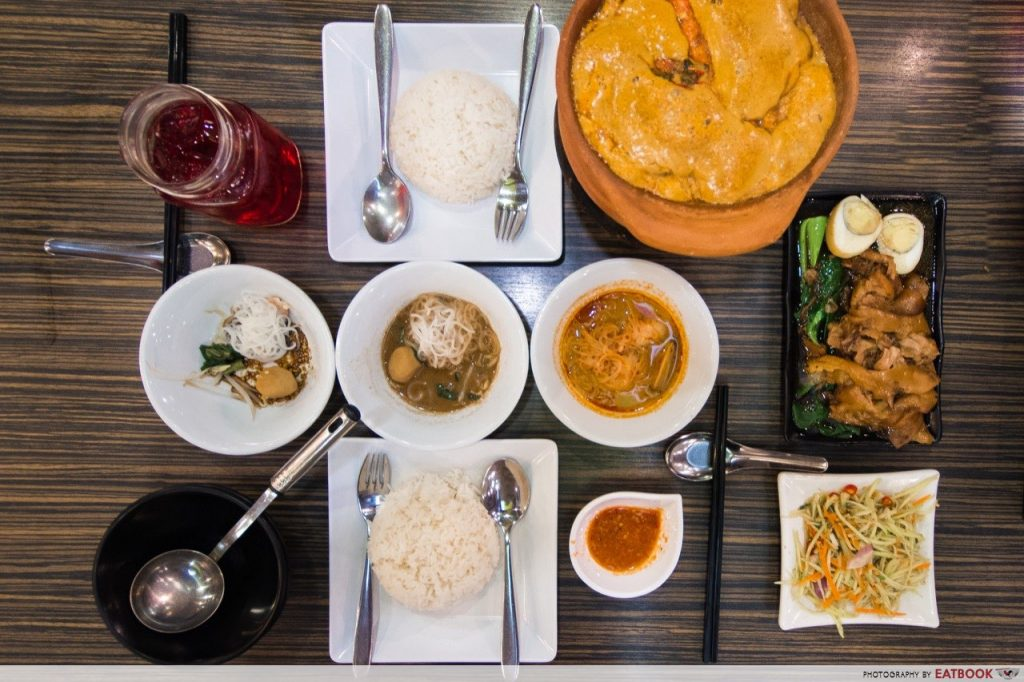 affordable thai food thai boat noodle