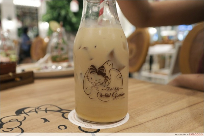 Hello Kitty Cafe Ice Speculoos Latte