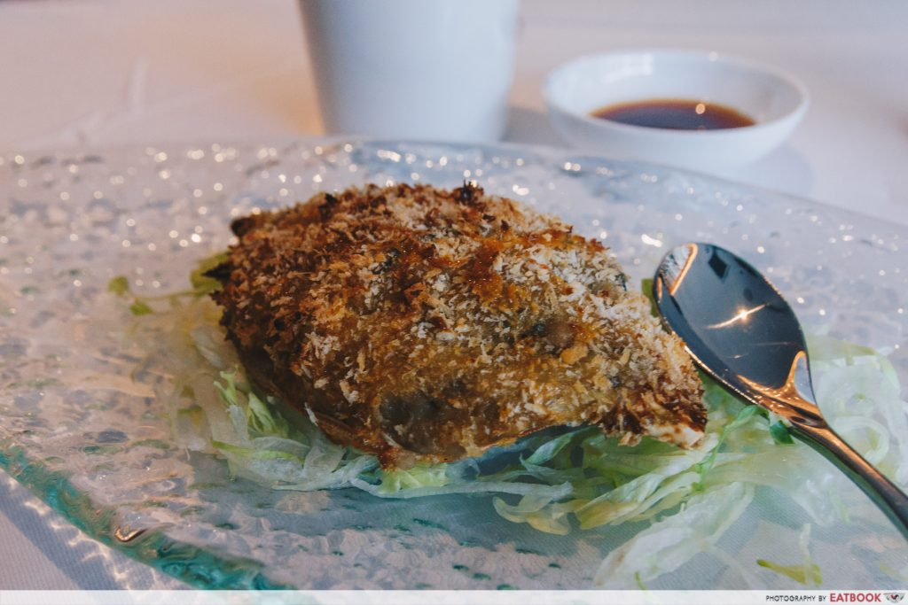 YAN- Baked Crab Shell with Crab Meat with Onion