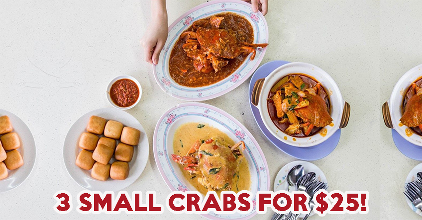 21 Seafood Review: Get Three Sri-Lankan Crabs For $25 At Kovan