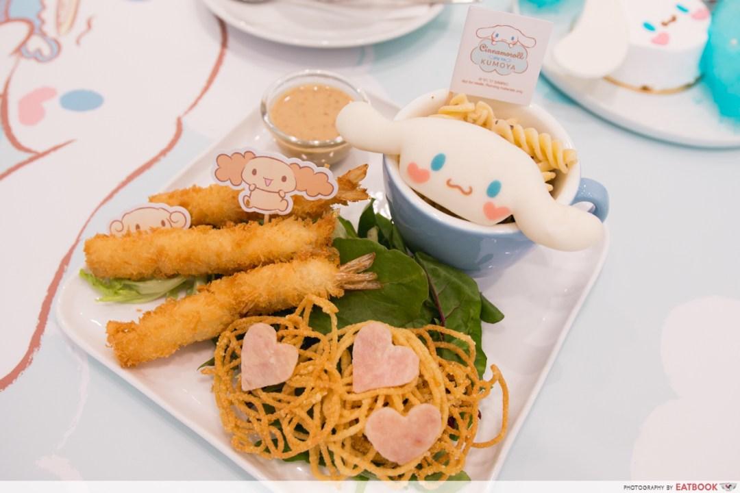 cinnamoroll cafe - tempura pasta