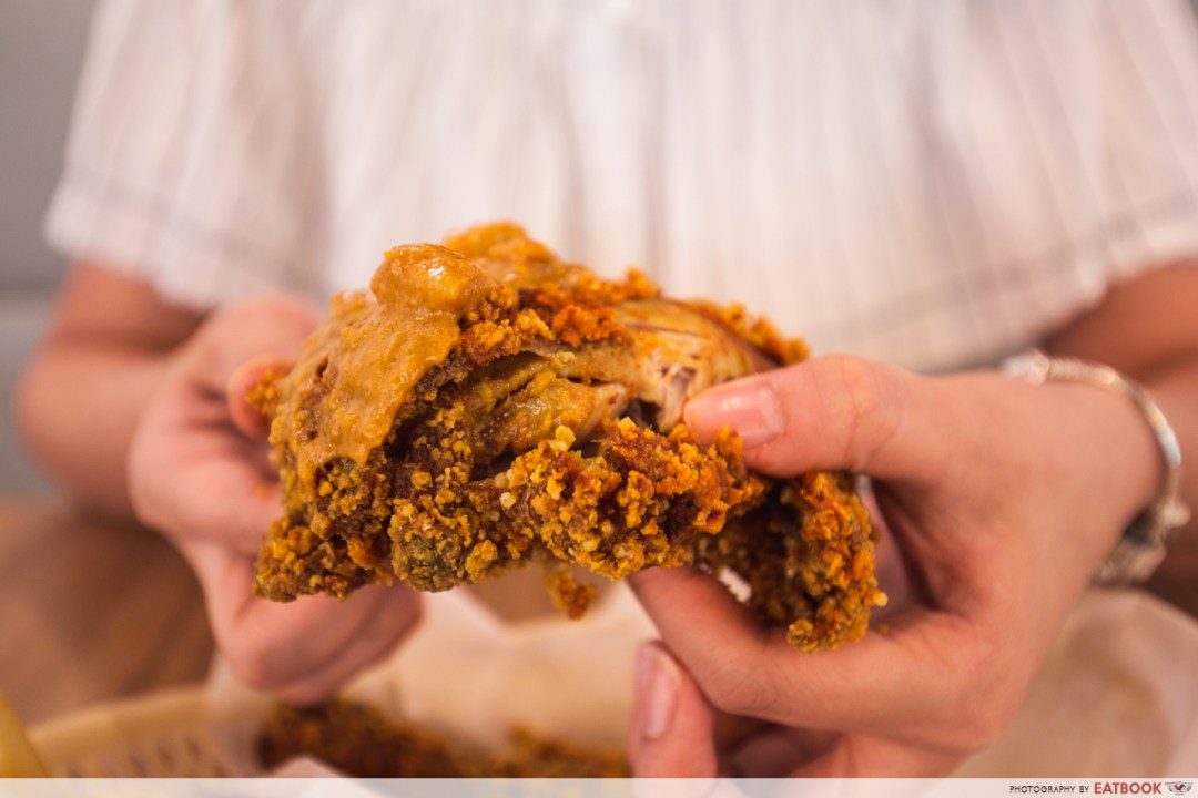 kfc curry crunch - curry crunch chicken