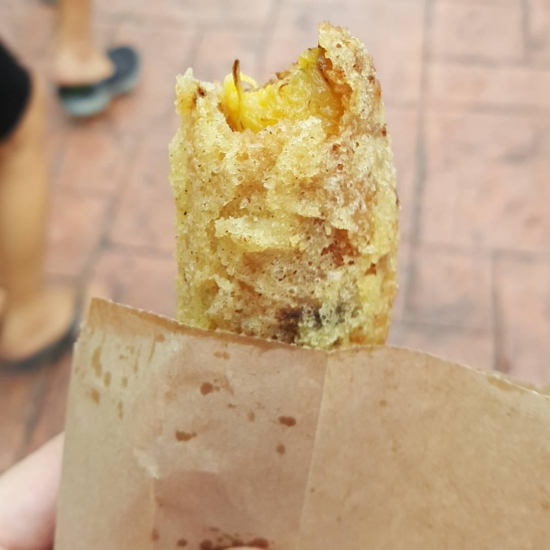 changi village food - goreng pisang