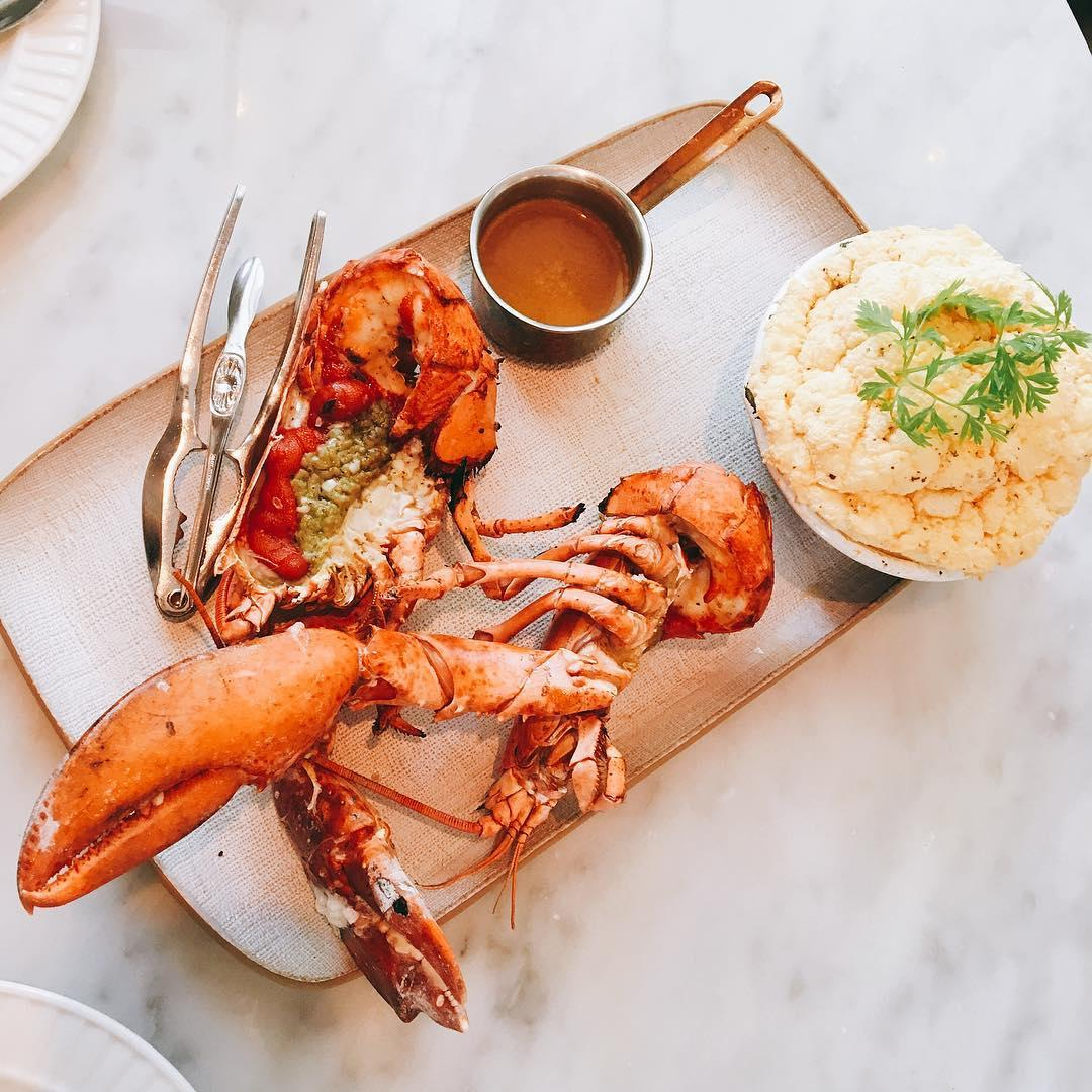 bangkok hipster cafe - lobster souffle