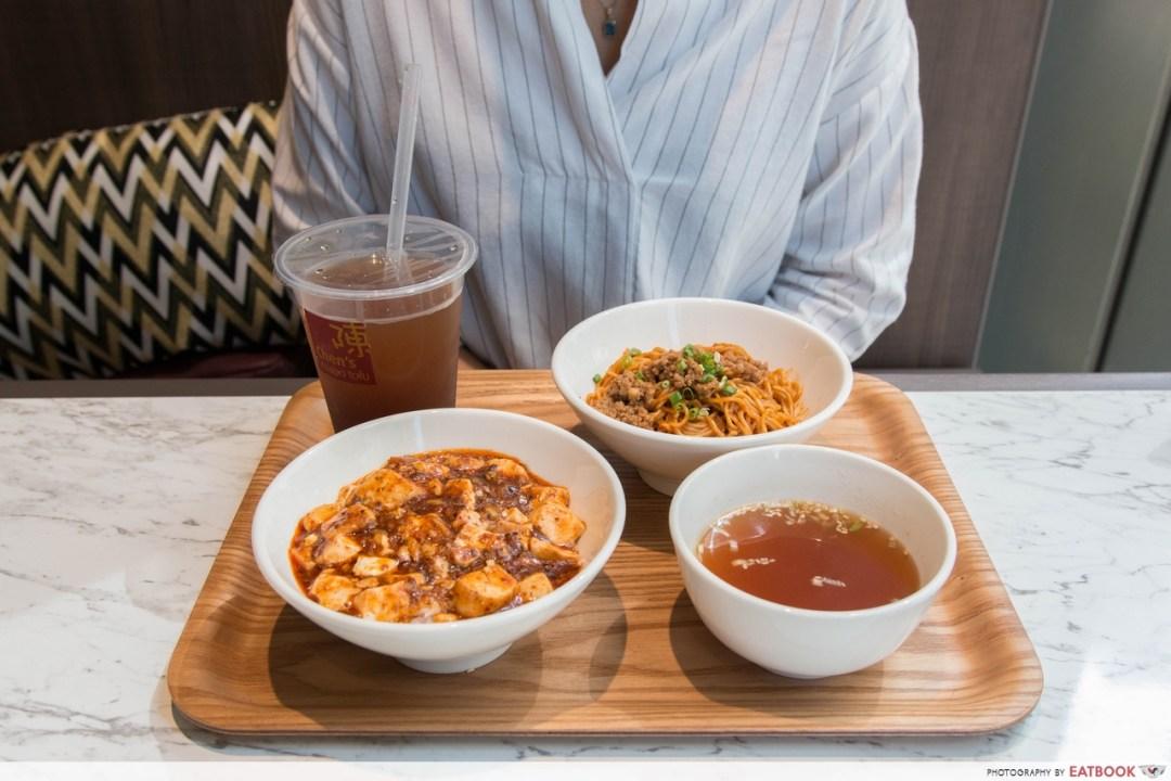 chen's mapo tofu - set b