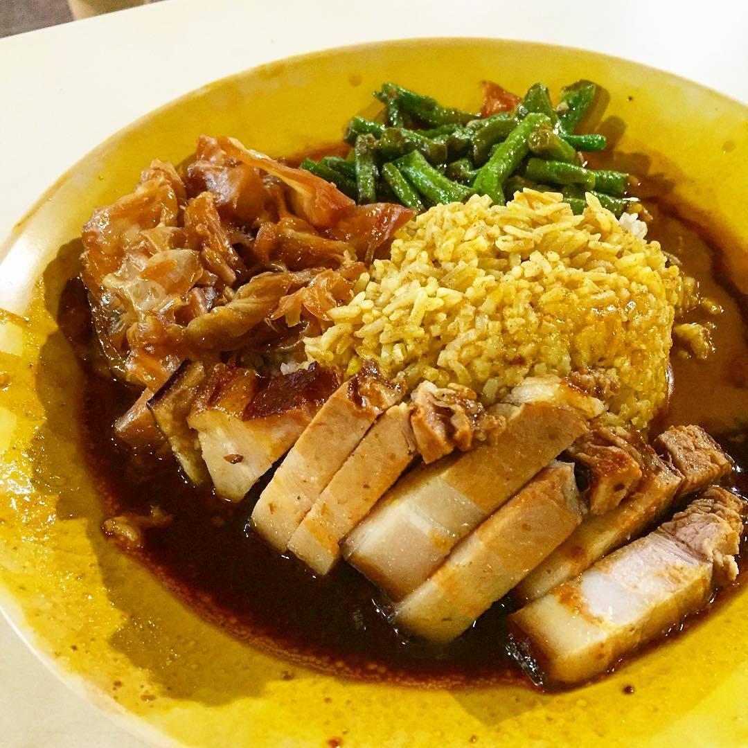 famuos curry rice- hong seng