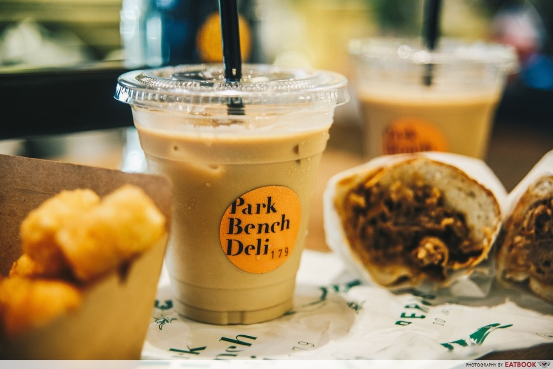 Coffee Break - Park Bench Deli