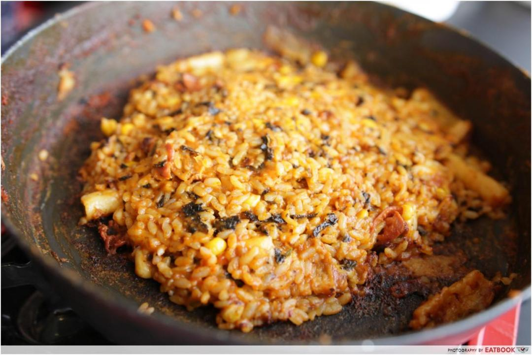 Mukshidonna - Fried rice with cheese halal korean food
