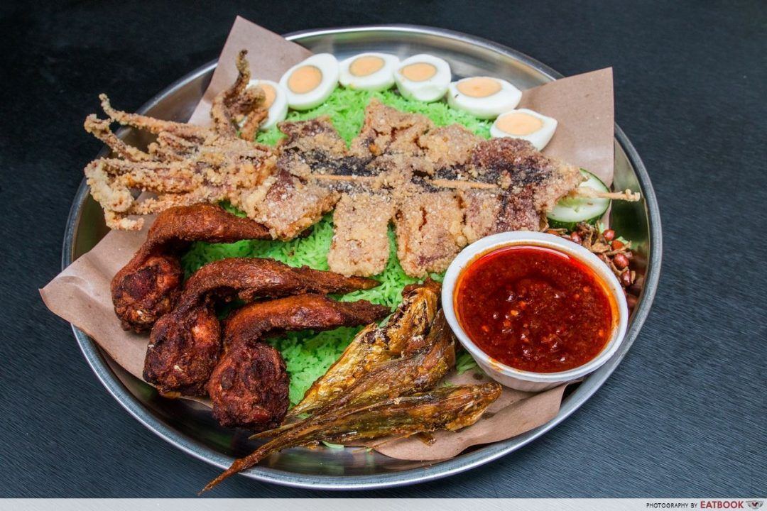 Nasi Lemak-inspired - route 12