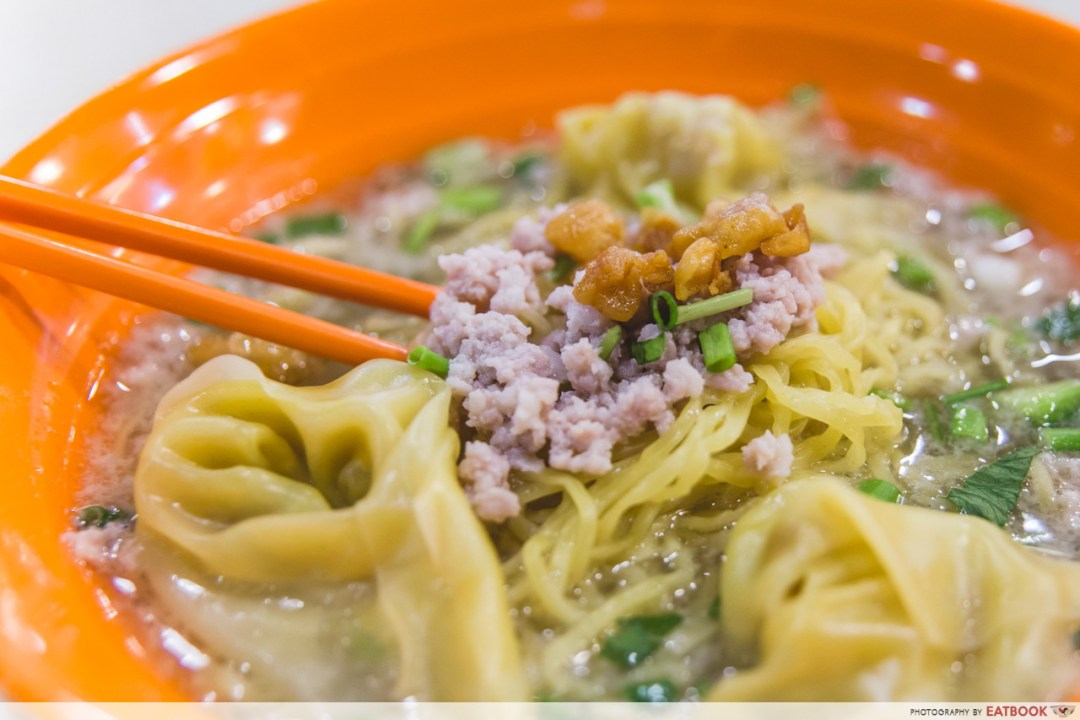 Young hawkers - Famous Eunos Bak Chor Mee