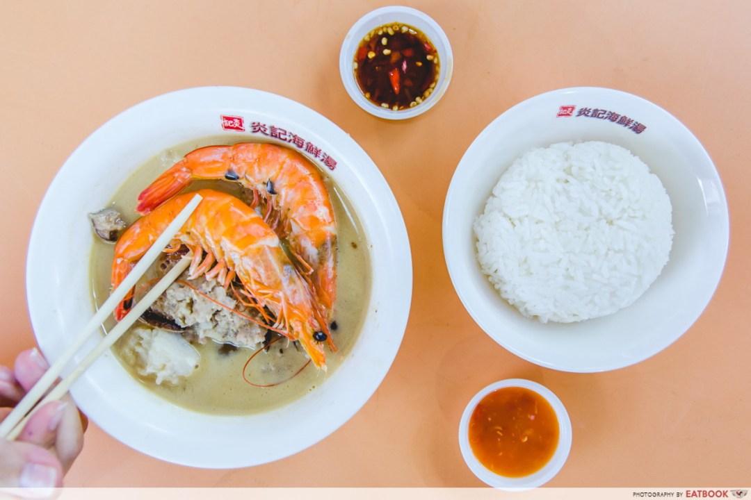 Young hawkers - Yan Ji Seafood Soup
