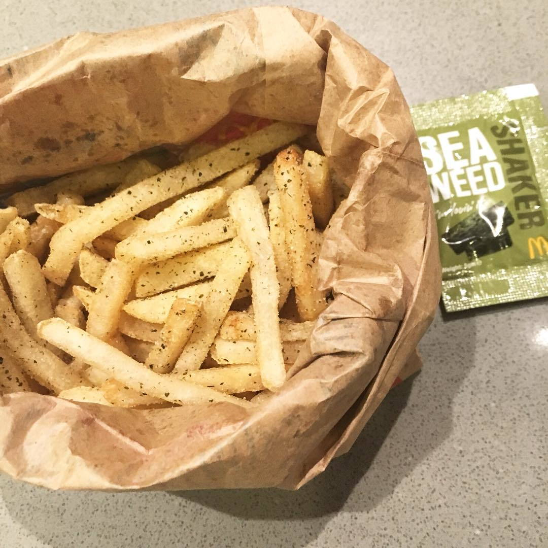 mcdonald- seaweed fries
