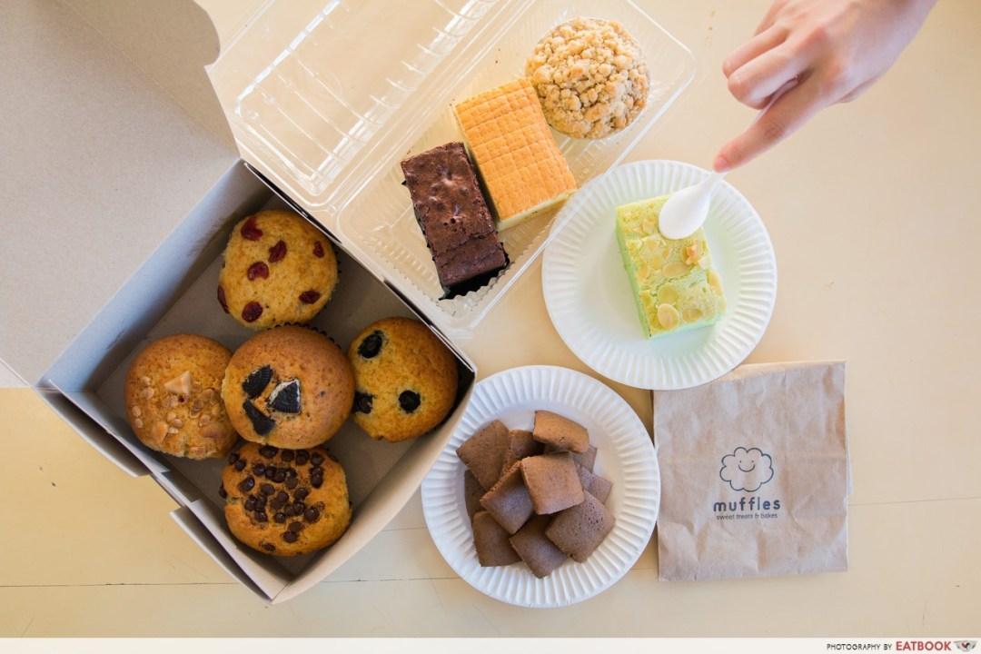 Hawker desserts- Muffles