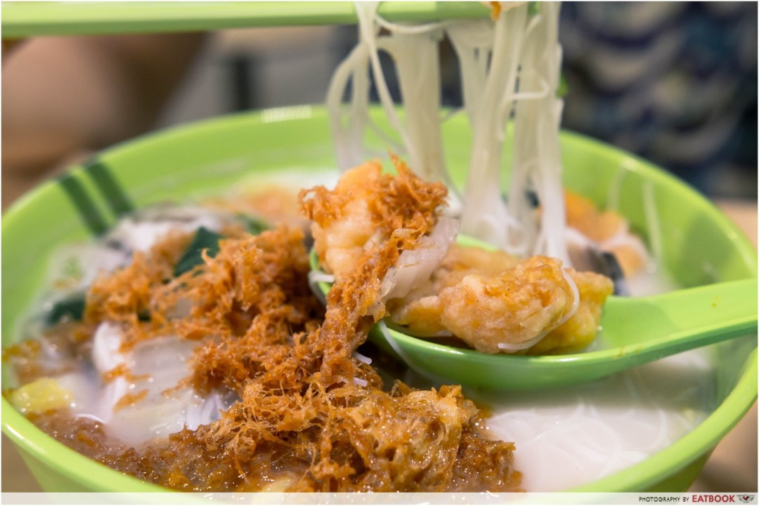 Jurong West Hawker Centre - tenderfish mee