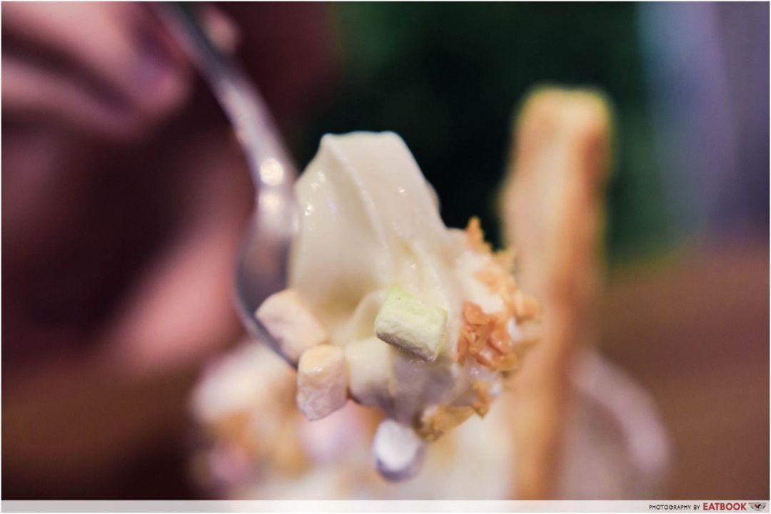 Mao Shan Wang Cafe - durian ice-cream