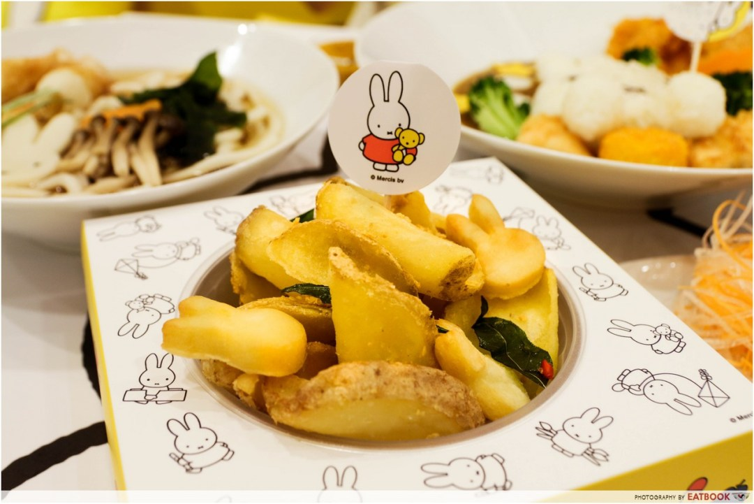 Miffy cafe - fries