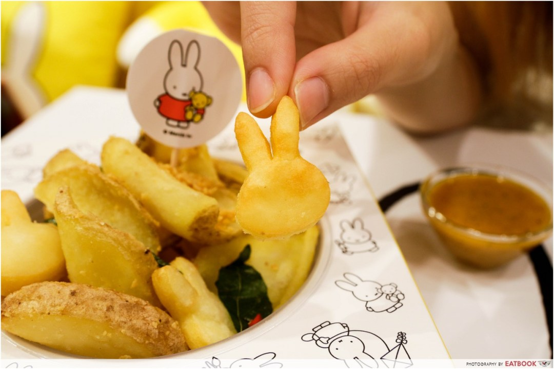 Miffy cafe - salted egg yolk fries
