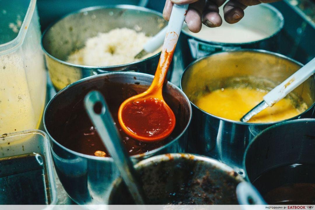 Ridhuan's Muslim Delights - Ingredients