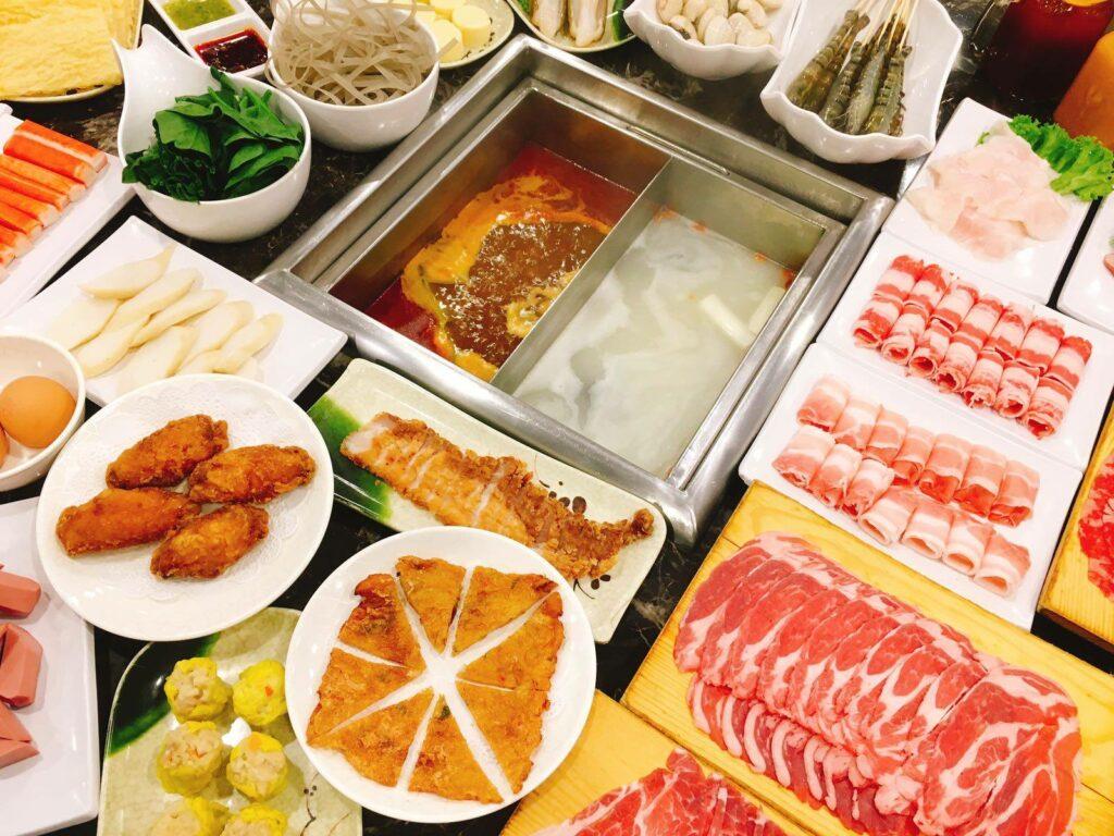 ma la steamboat buffet Hai Xian Lao