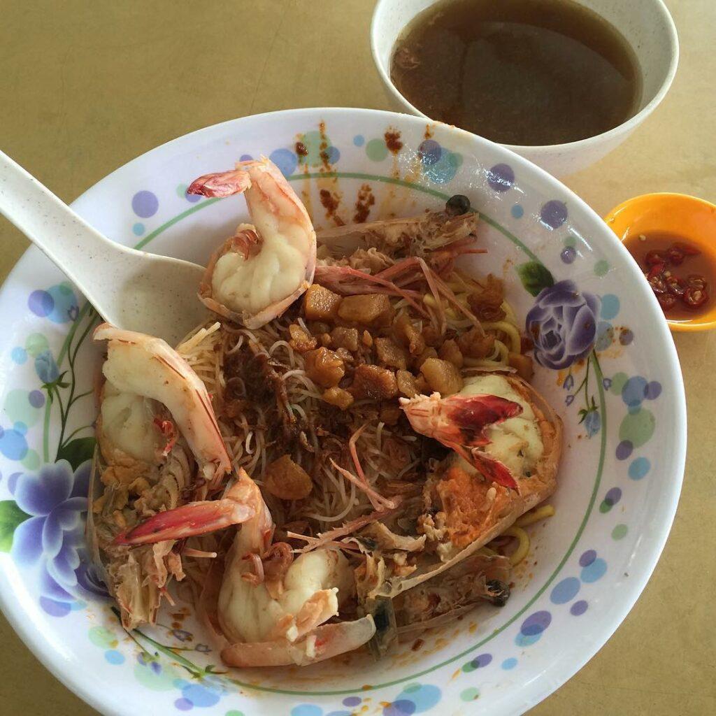 Bedok North Food 58 Prawn Noodle