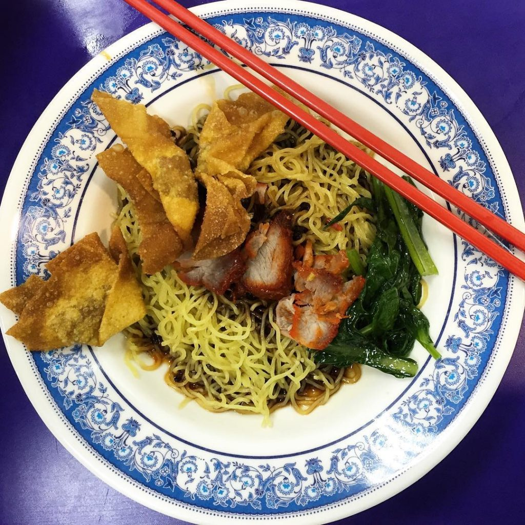 Bencoolen MRT Food Parklane Zha Yun Tun Mee House
