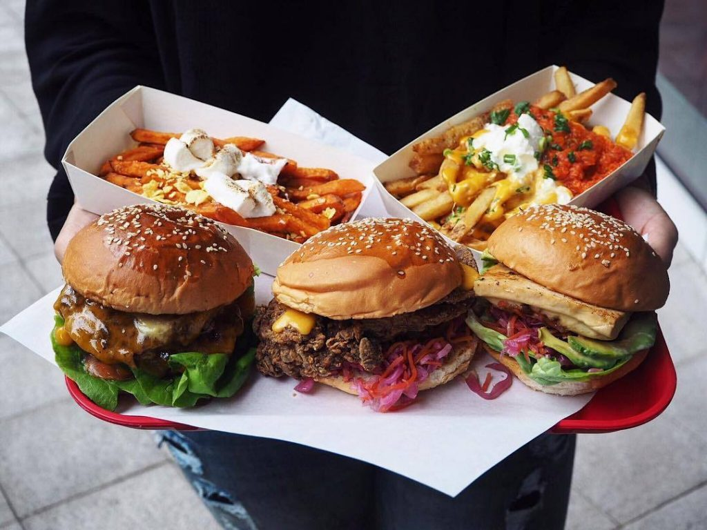 Expo food - WOLF Burgers