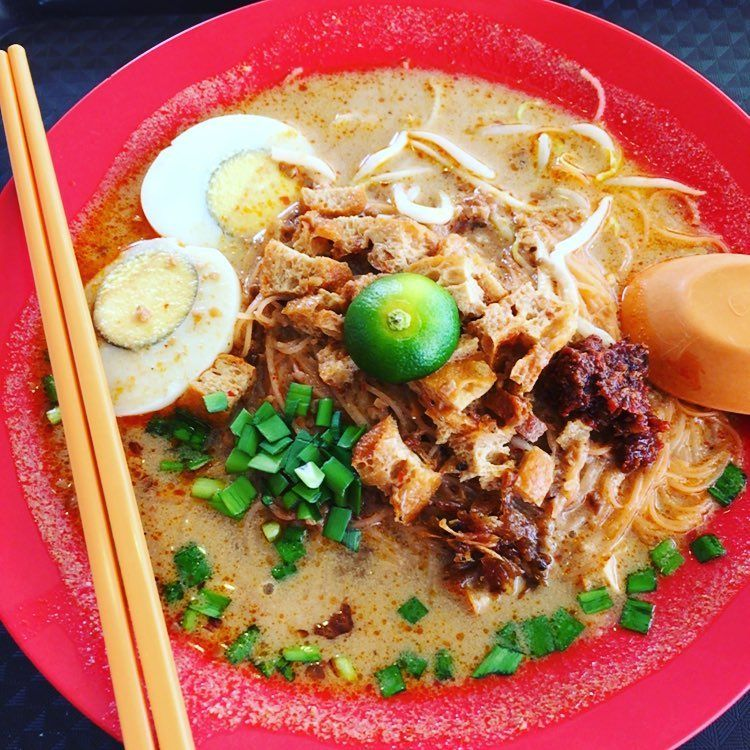 Mattar MRT Food Places - Hup Hup Mee Siam