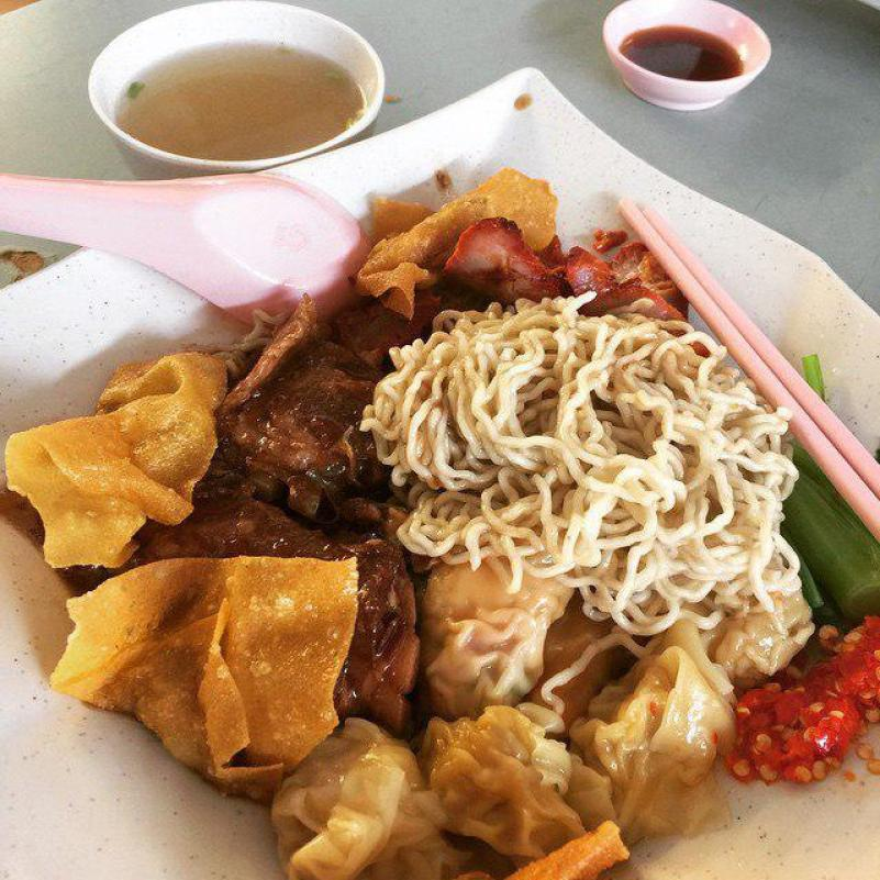Tampines West food - Yummy Sarawak Kolo Mee