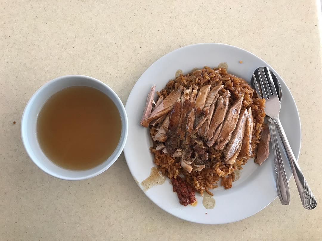 Seah Im Food Centre - Cai Ji Boneless Duck Rice Porridge