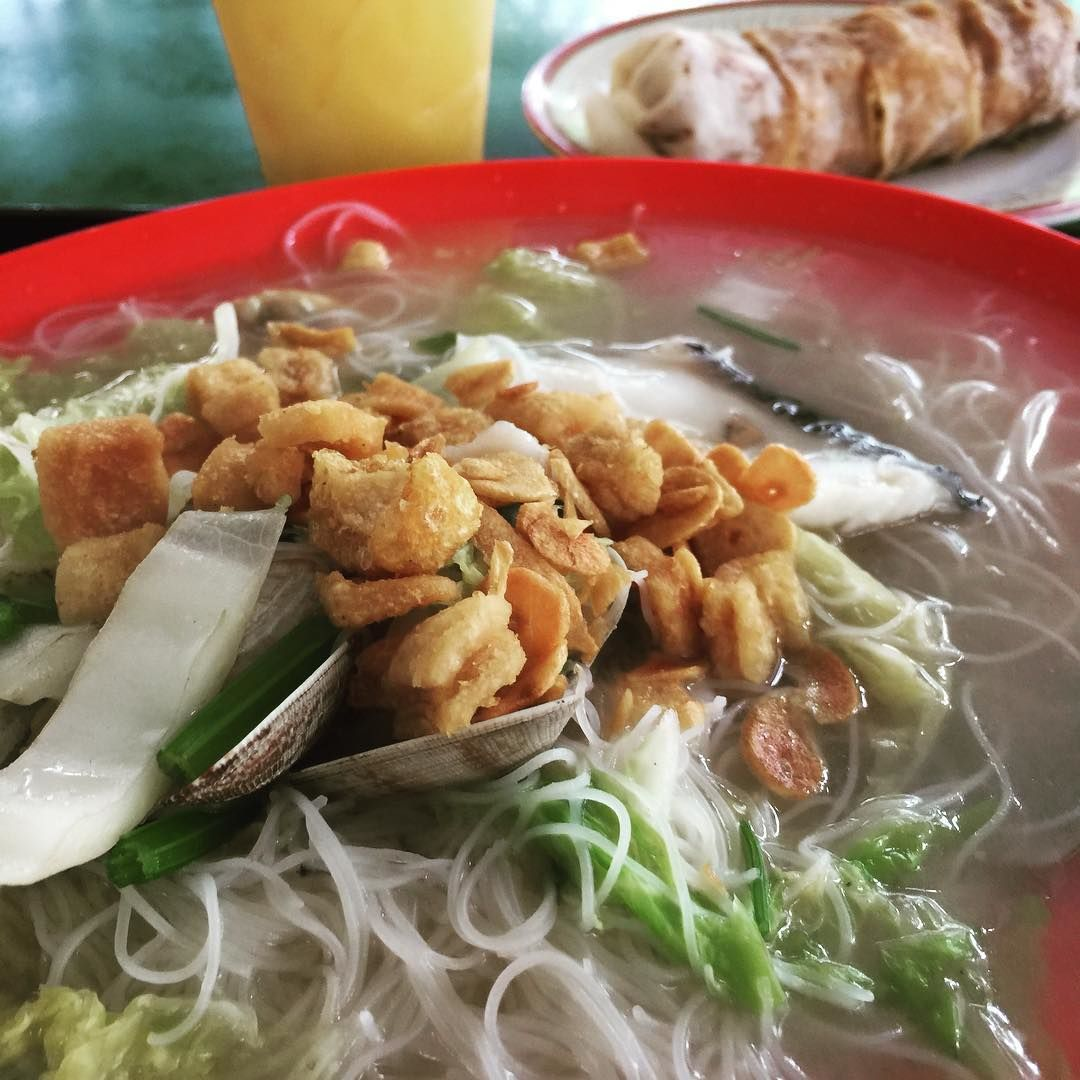 Bukit Timah Food Centre - Prosperity Seafood White Bee Hoon