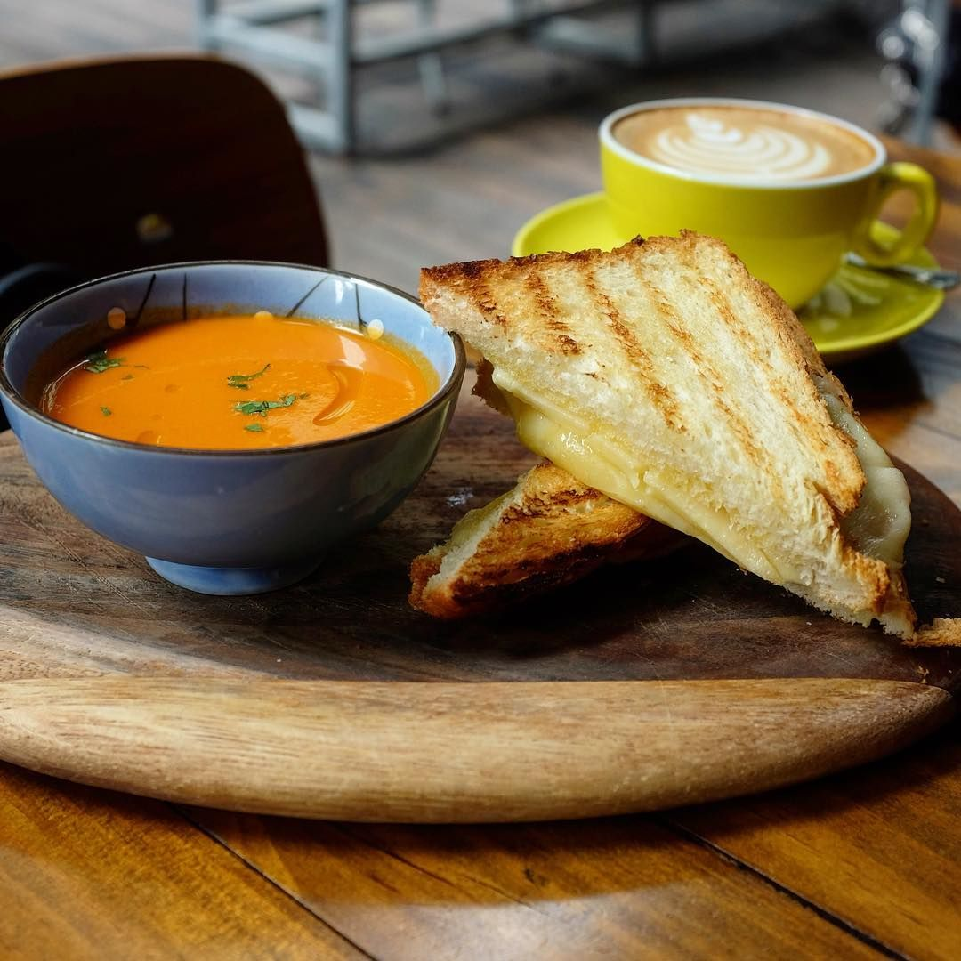 Grilled Cheese Sandwiches - Oriole Coffee + Bar