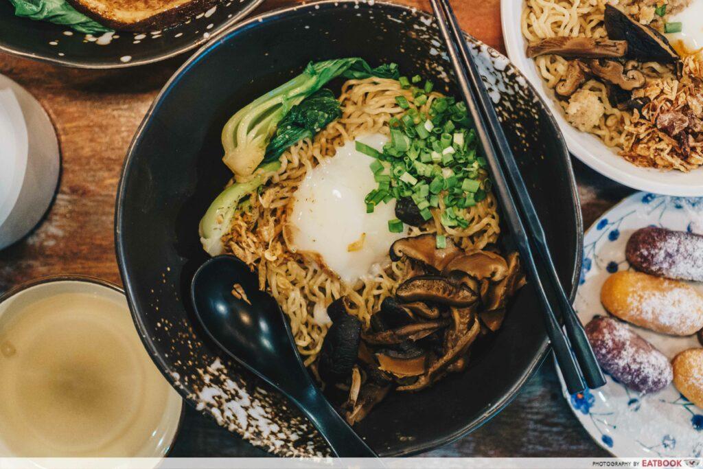 I want my noodle truffle oil noodle