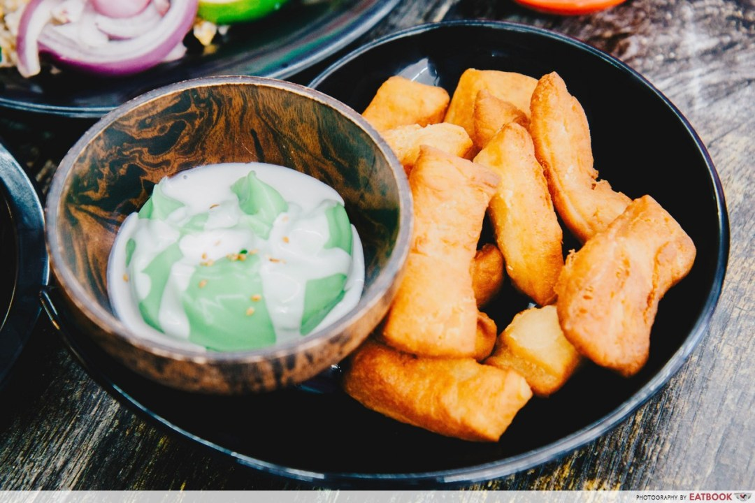 Time for Thai - Dough Fritters with Sangkaya