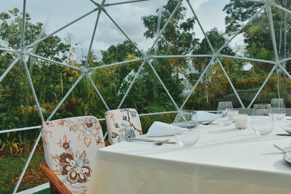 igloo domes - interior