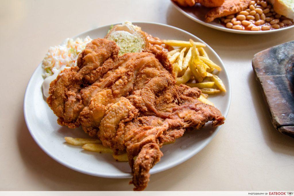 Singapore Hawker Food - Chicken Cutlet