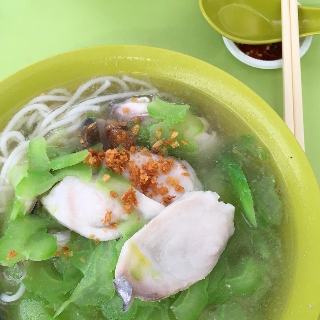 Hong Lim Food Centre - Fan Ji Bittergourd Fish Soup
