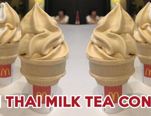 McDonald's Thai Milk Tea - Feature Image
