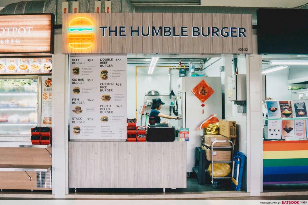 The Humble Burger - Shop Front