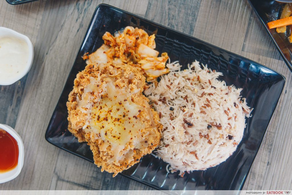 Waker Chicken X Oppa Grill - cheesy cutlet