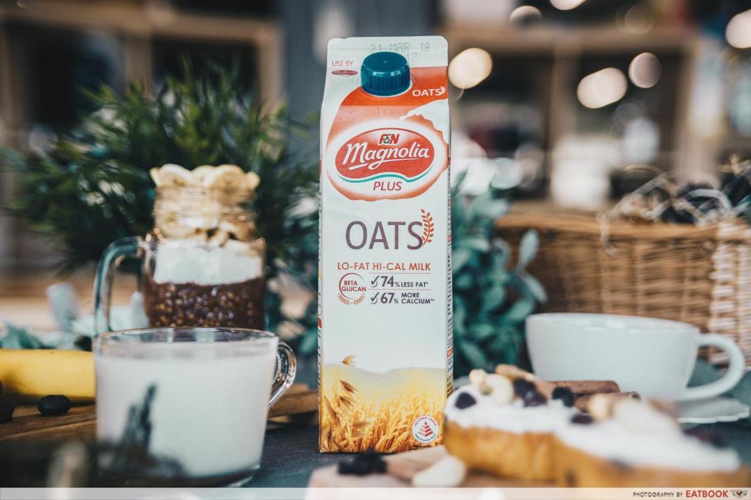 low-carb breakfasts - magnolia oats milk