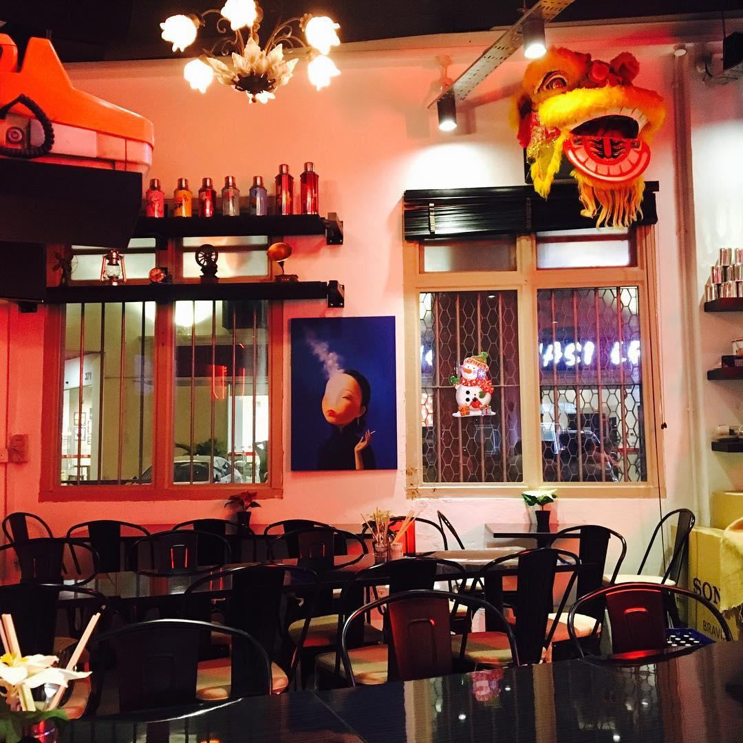 old-school cafes sin hoe huat ambience