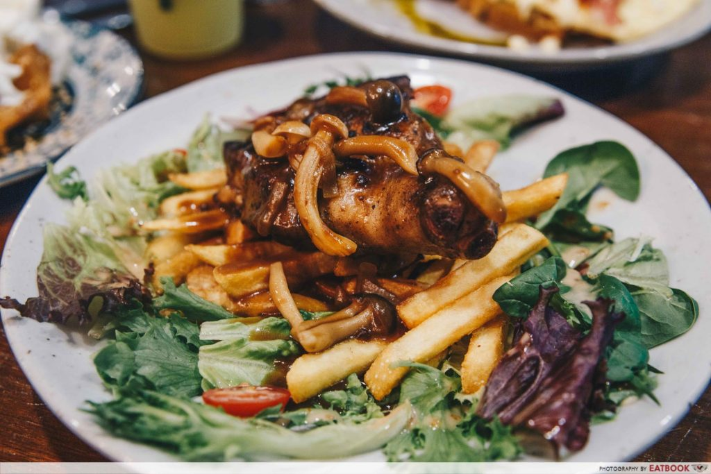 Corgi and The Gang Pet Cafe - food 2