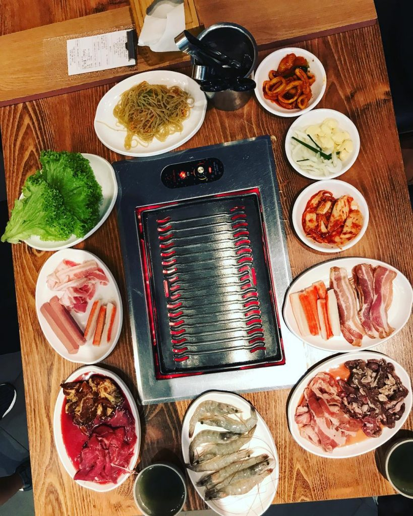 Jurong East Food - Oppa Korean BBQ Buffet