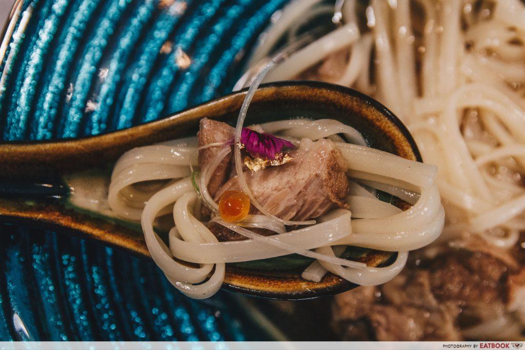RAKUYA-bak kut teh udon noodles