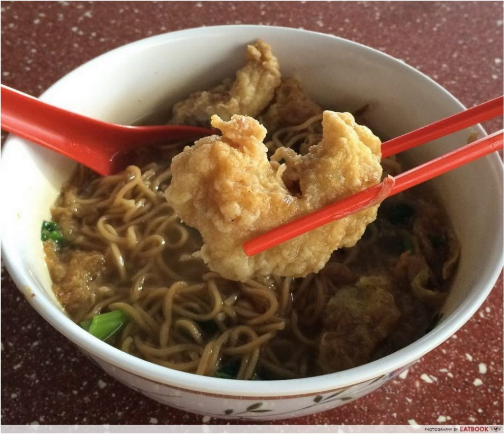 Toa Payoh West Food Centre - Fried Fish Soup