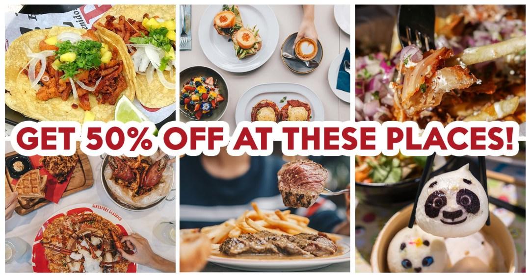 Chope weekend dining deals